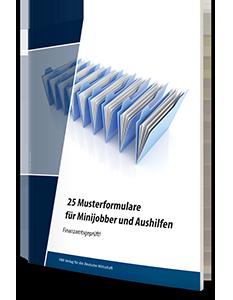 25-krankenversicherungs- und finanzamtsgeprüften Musterformulare