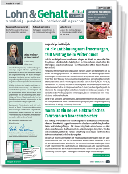 Praxishandbuch Lohn & Gehalt